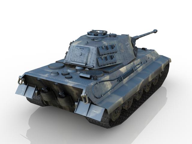 Tank 3D model