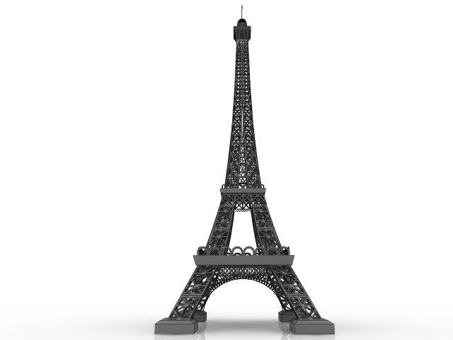 Eiffel Tower 3D model