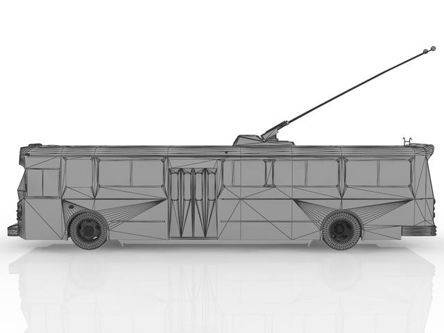 Trolleybus 3D model
