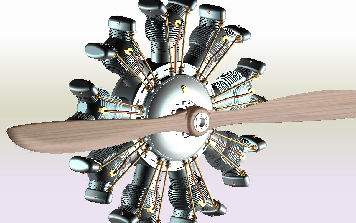 Propeller 3d model