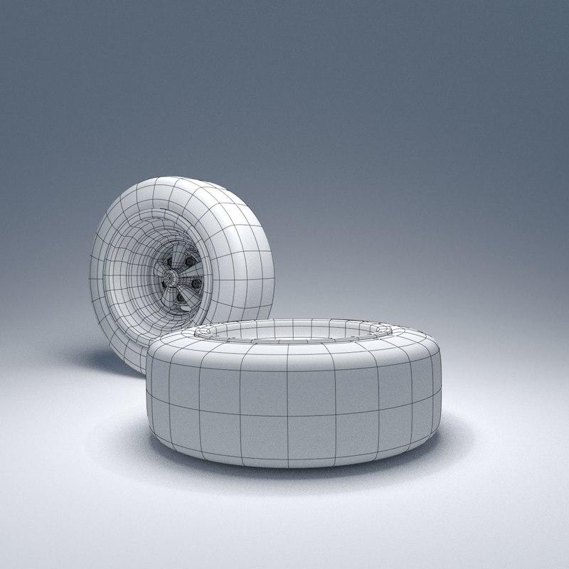 Wheel disc 3D model