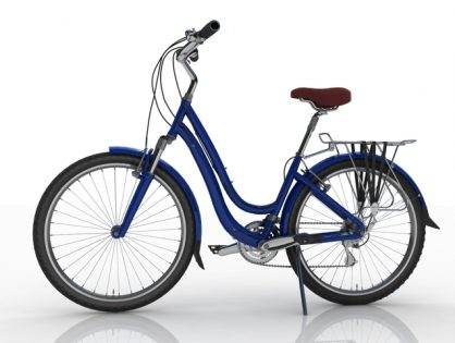 Women's bicycle blue