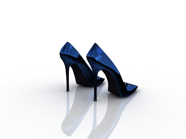 Women's shoes 3D model Download for Free