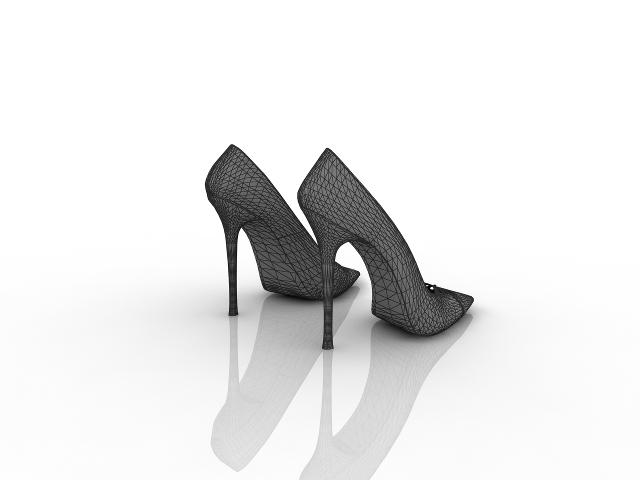 Women's shoes 3D model