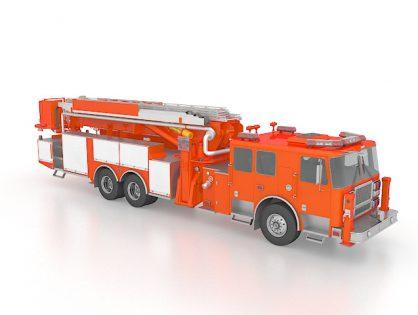 Aerial apparatus fire truck
