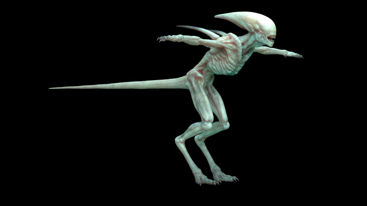 Alien Covenant 3D model