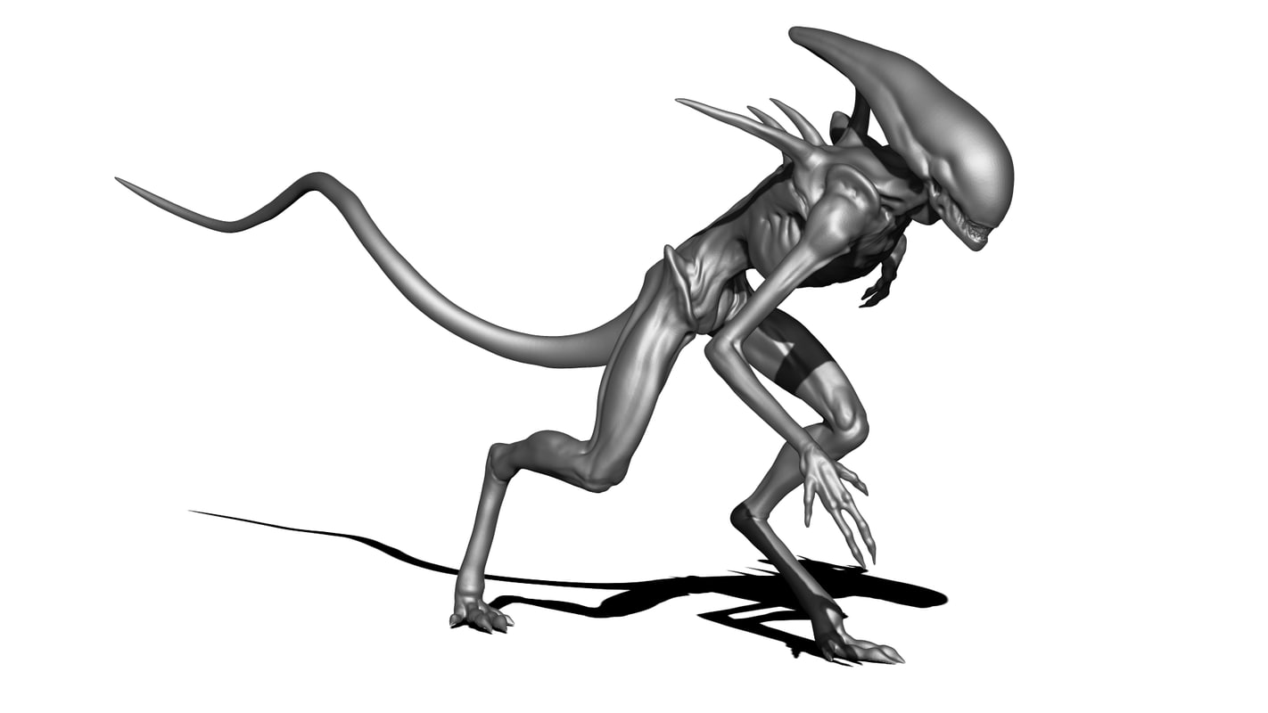 Alien Sculpt 3D model