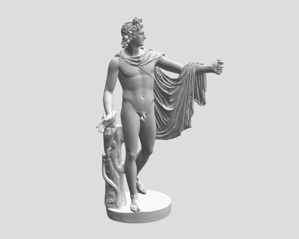 Apollo Belvedere 3D model