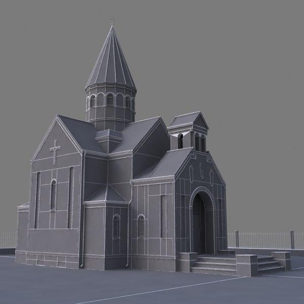 Armenian Church 3d model
