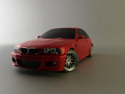 BMW E46 M3 3D model