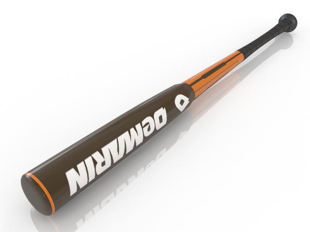 Baseball bat 3D model