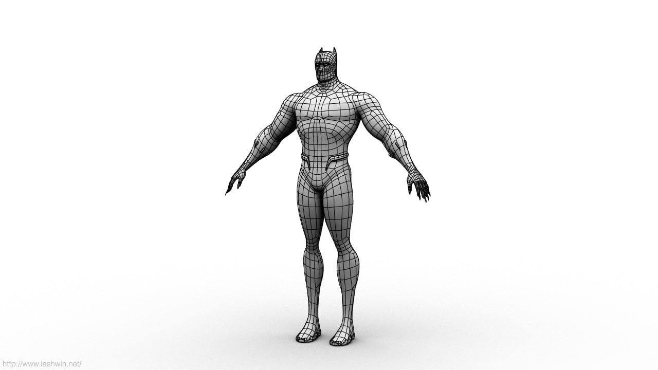 Black panther 3d models