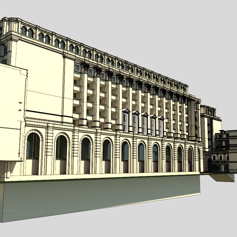 British Colonial Complex 3D model