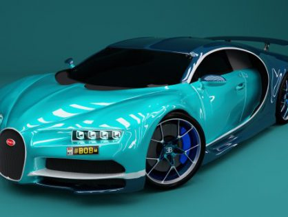 Bugatti Chiron 2017 sports car
