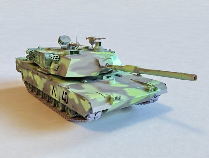 Camouflage M1A2 Abrams