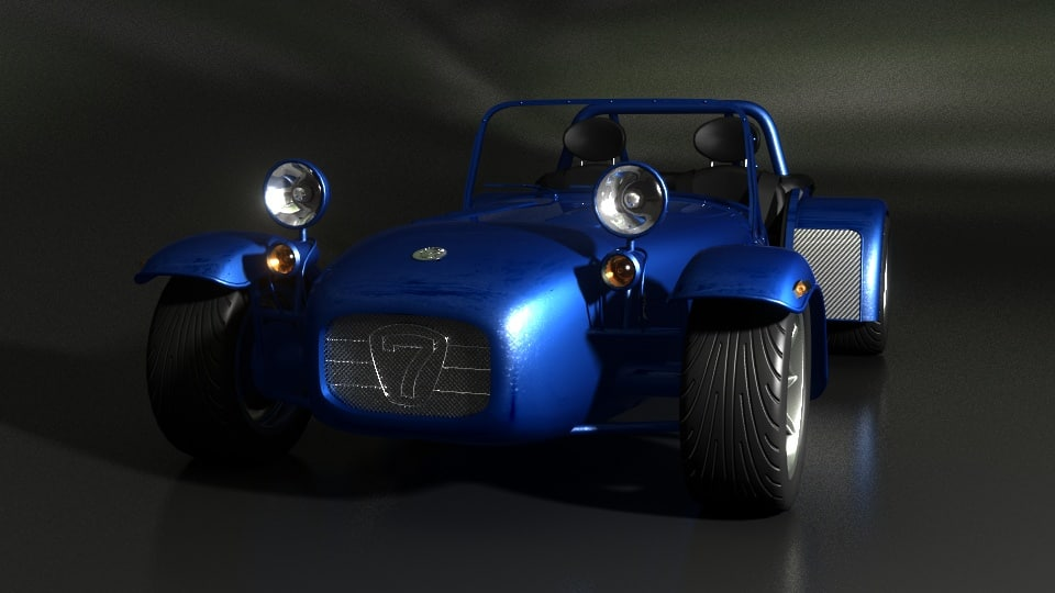 Caterham Seven Sigma 3D model