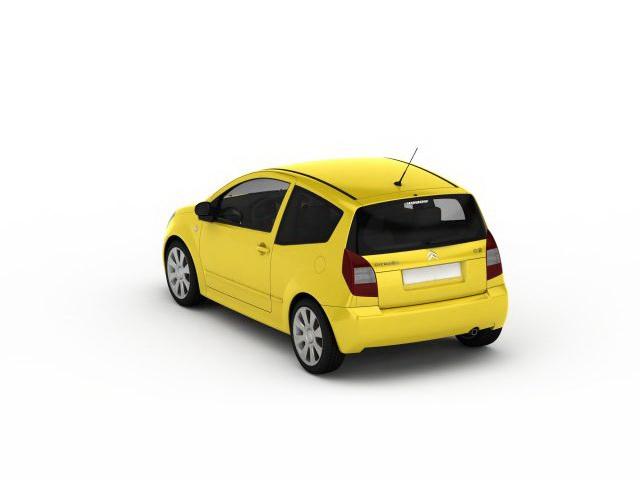 Citroen C2 VTS 3D model