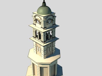 Clock Tower - Colonial