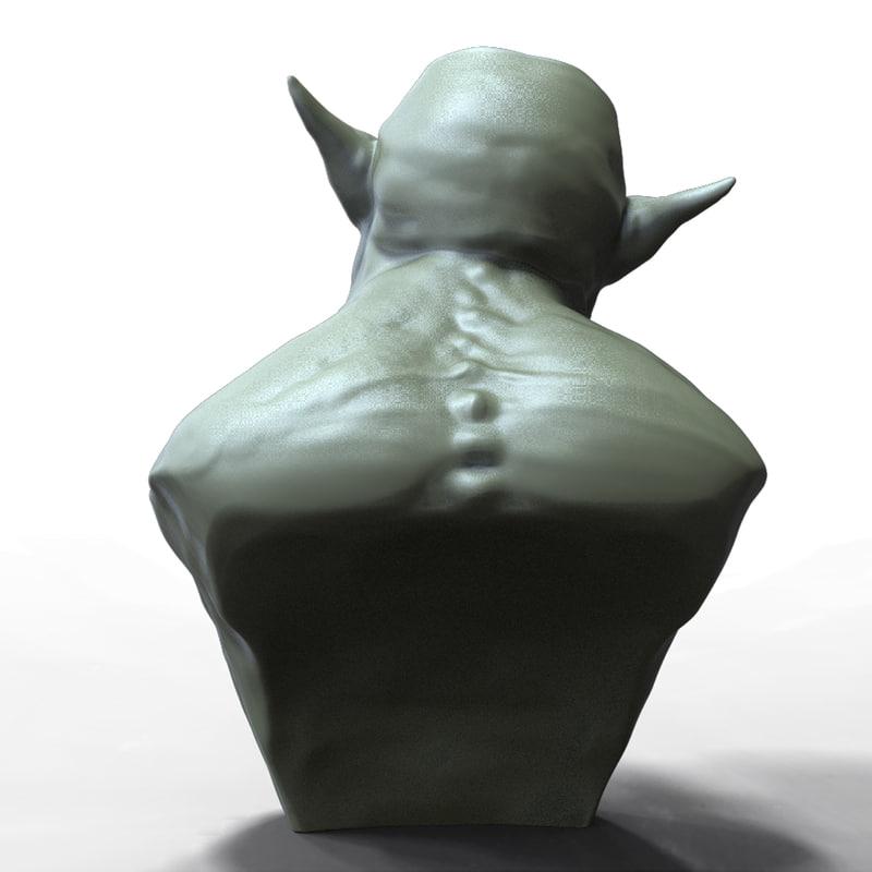 Demon Head 3D model