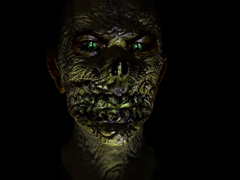 Demon Zombie 3D model