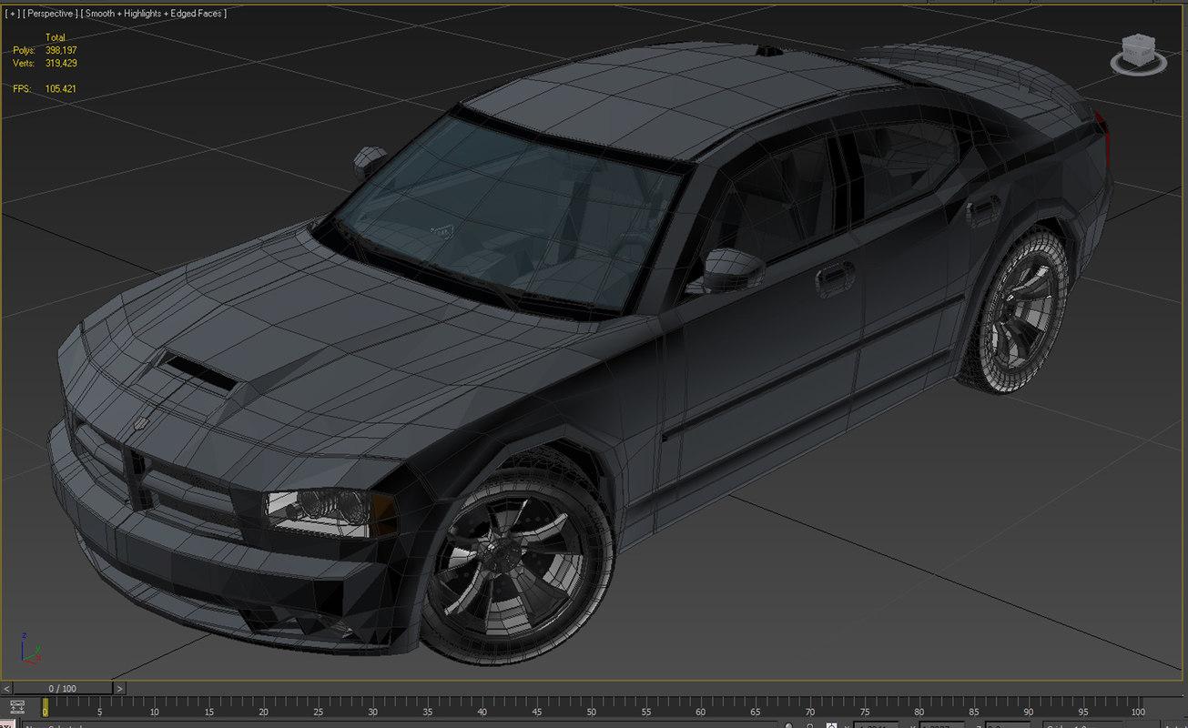 Dodge Charger SRT8 3D model