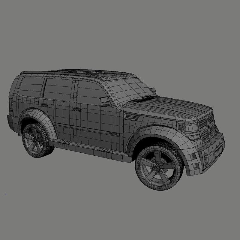Dodge Nitro 3D model