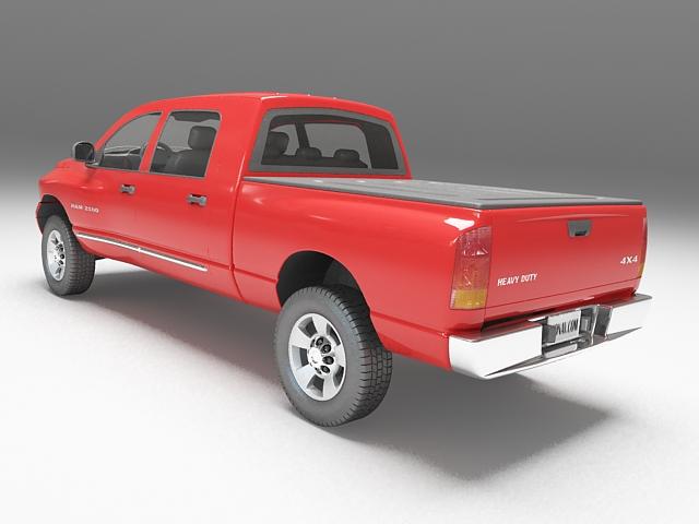 Dodge Ram Pickup 3D model