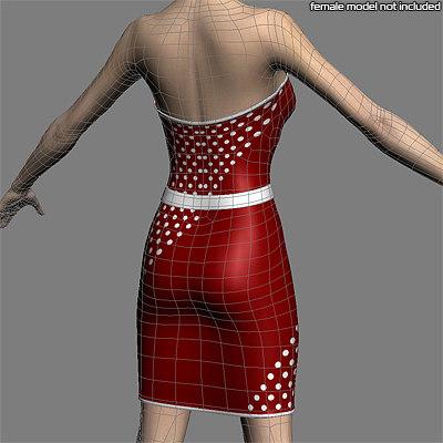 Women Dress 3D model