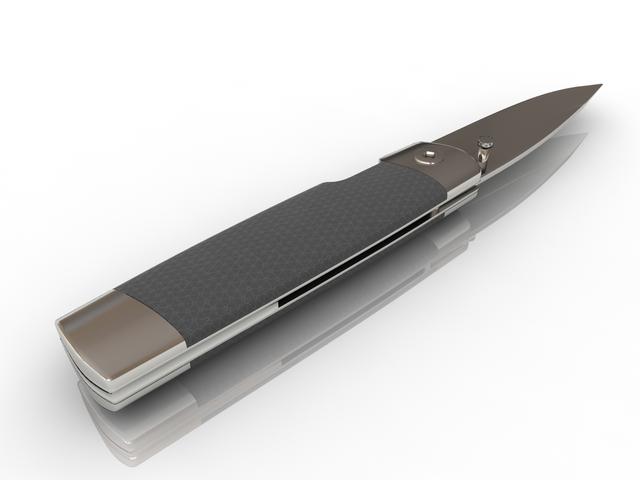 Folding Knife 3D model