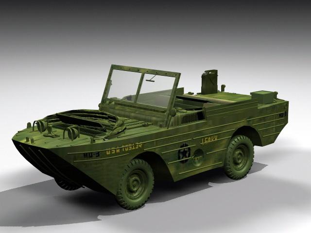Ford GPA Amphibious 3D model