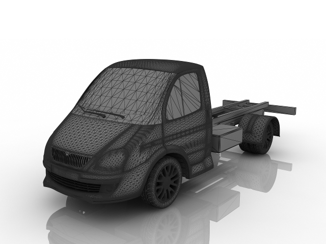 GAZelle 3D model