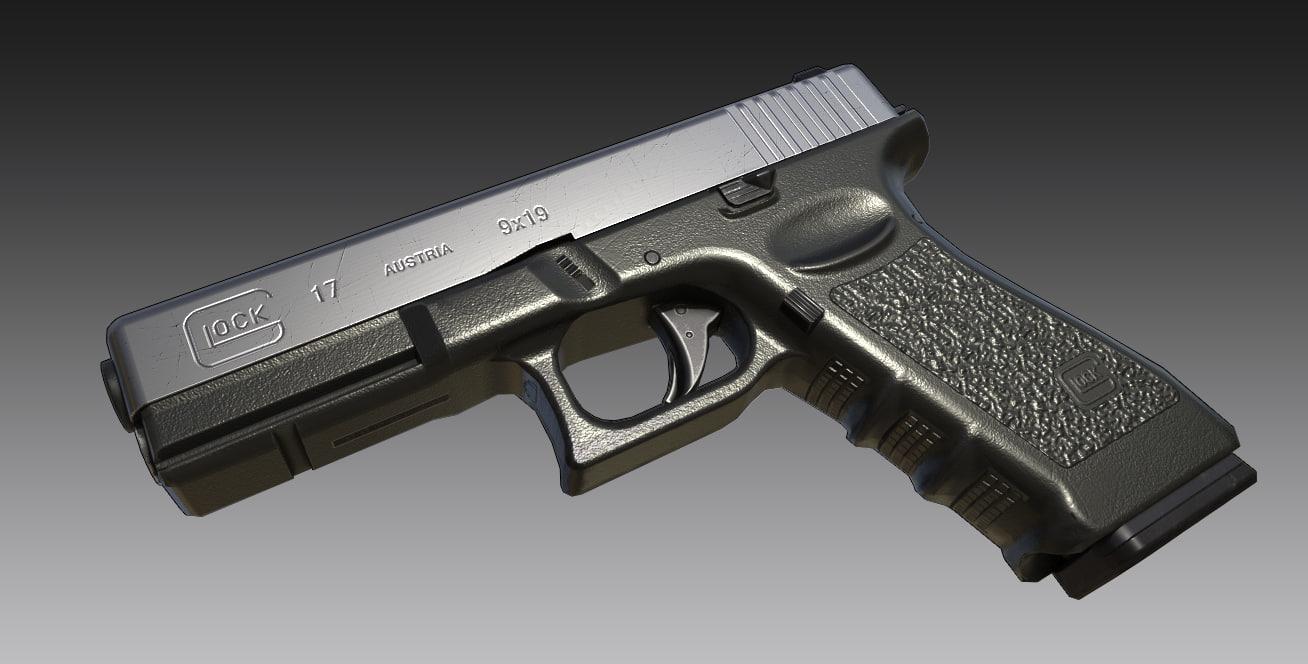 Glock 17 3D model