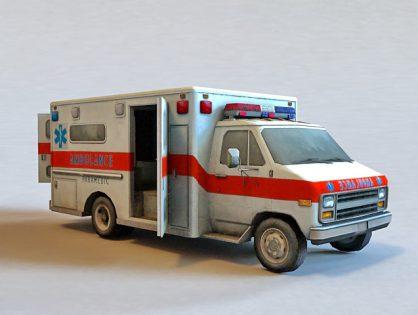 Hospital Ambulance