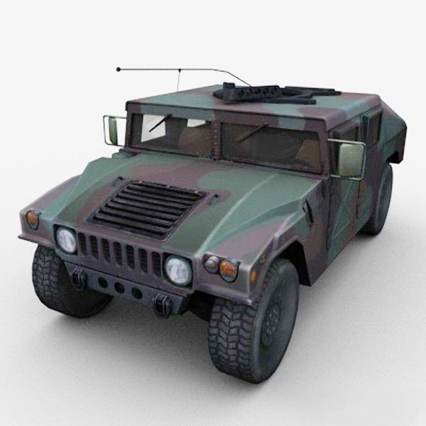 Humvee Military 3D model