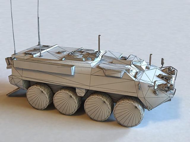 IAV Stryker 3D model