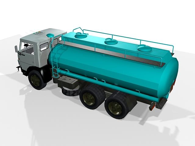 Kamaz Tanker 3D model