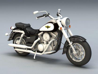 Kawasaki Cruiser Motorcycle