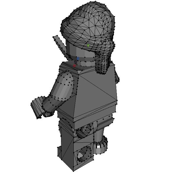 Lego Pirate 3D model