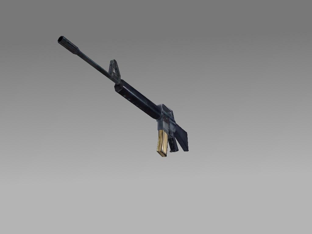 M16A1 Assault Rifle 3D model