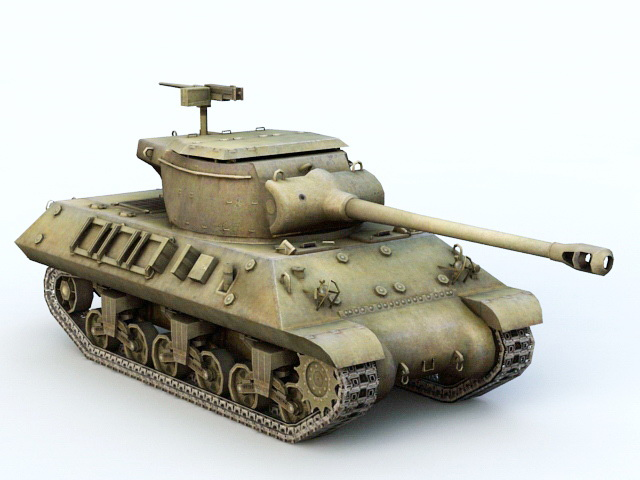 M36 Tank Destroyer 3D model