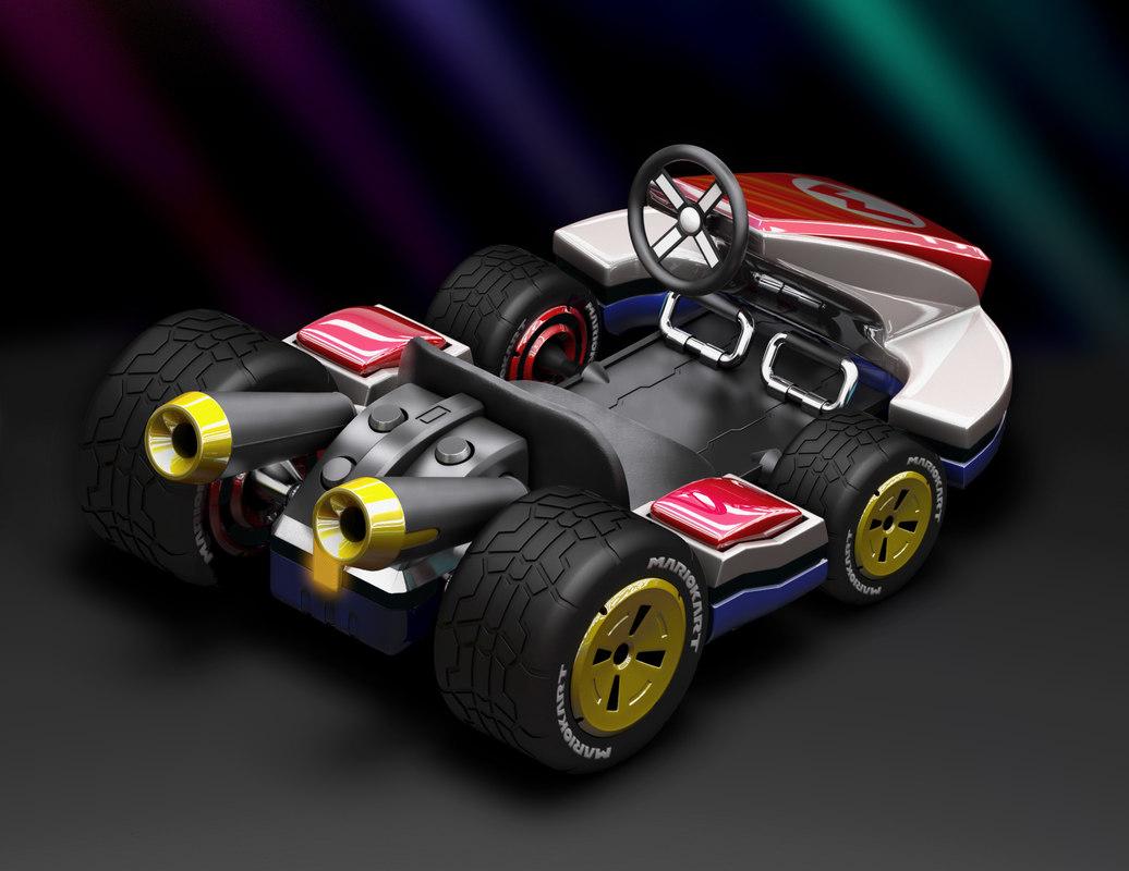 Mario Kart 3D model