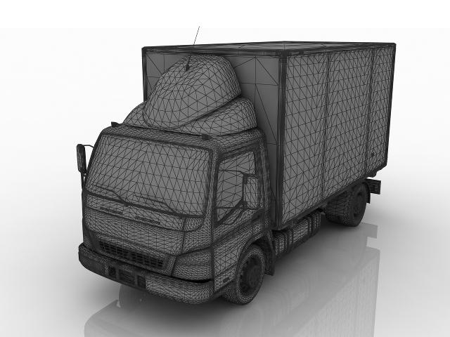 Mitsubishi Fuso CANTER 3D model
