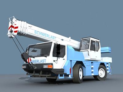 Mobile crane Liebherr LTM 1030