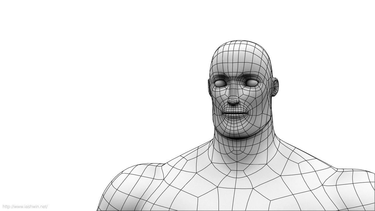 Mr Manhattan 3D model