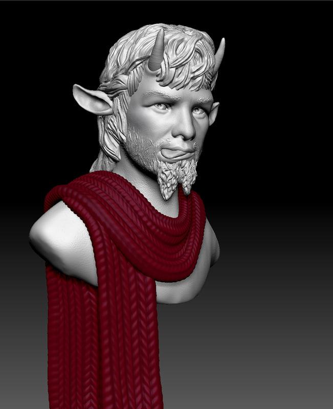 Mr. Tumnus 3D model
