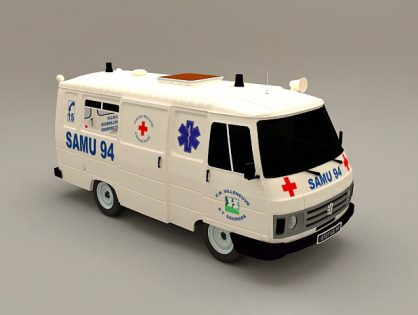 Peogeot Ambulance Car