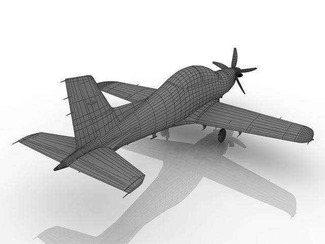 Pilatus PC-21 3D model