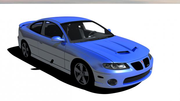 Pontiac GTO 3D model