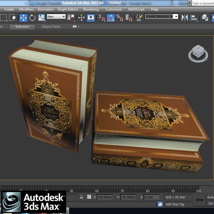 Quran 3D model