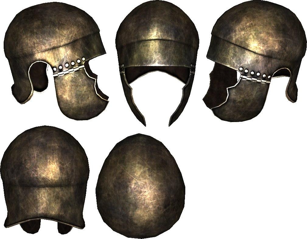 Samnite helmet 3D model
